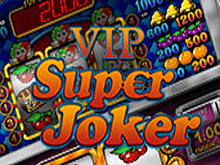 Super Joker VIP играть на деньги